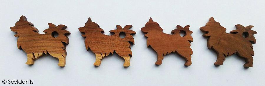 Sleutelhangers IJslandse Honden Saeldarlifs 900